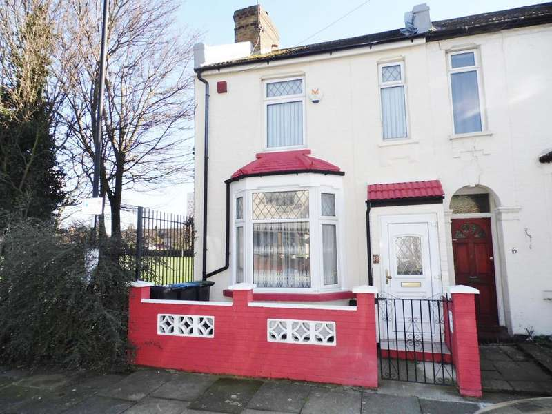 2 Bedrooms End Of Terrace House for sale in Glasgow Road, Edmonton N18