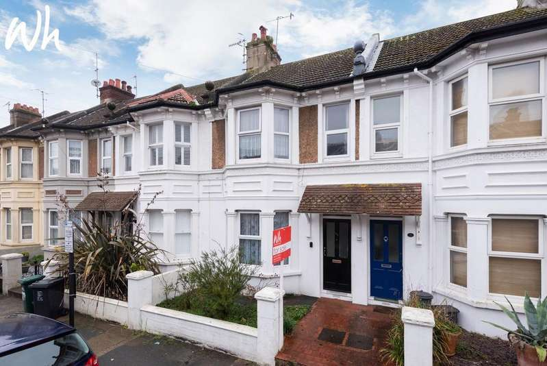 3 Bedrooms Terraced House for sale in Prinsep Road, Hove BN3