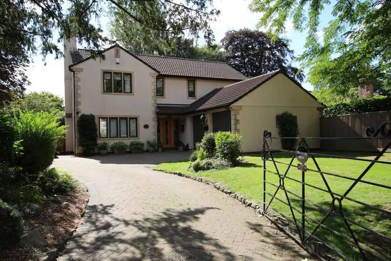 5 Bedrooms Detached House for sale in Superb south facing garden