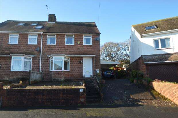 3 Bedrooms Semi Detached House for sale in Fox Road, Exeter, Devon