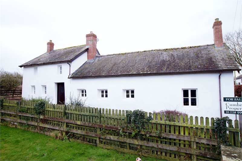 3 Bedrooms Cottage House for sale in CA5 6AF White Cottage, Longburgh, Carlisle, Cumbria