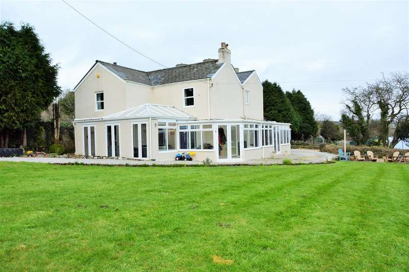 5 Bedrooms Detached House for sale in Burngullow, Nr St Austell, Cornwall, PL26