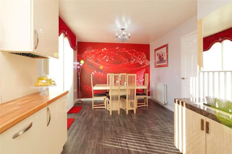 3 Bedrooms Semi Detached House for sale in Fauldhouse Way, Glasgow, Lanarkshire, G5