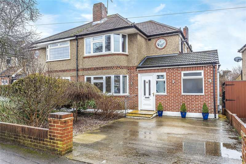 4 Bedrooms Semi Detached House for sale in Winton Drive, Croxley Green, Rickmansworth, Hertfordshire, WD3