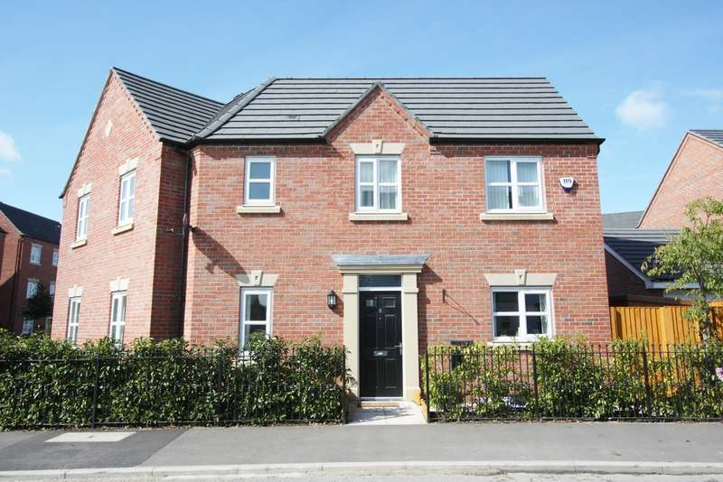 3 Bedrooms Semi Detached House for sale in Edgewater Place, Edgewater Park, Warrington