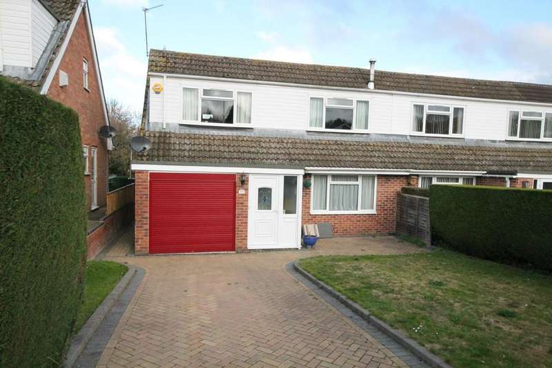 3 Bedrooms Semi Detached House for sale in Friars Road, Newbury, RG14