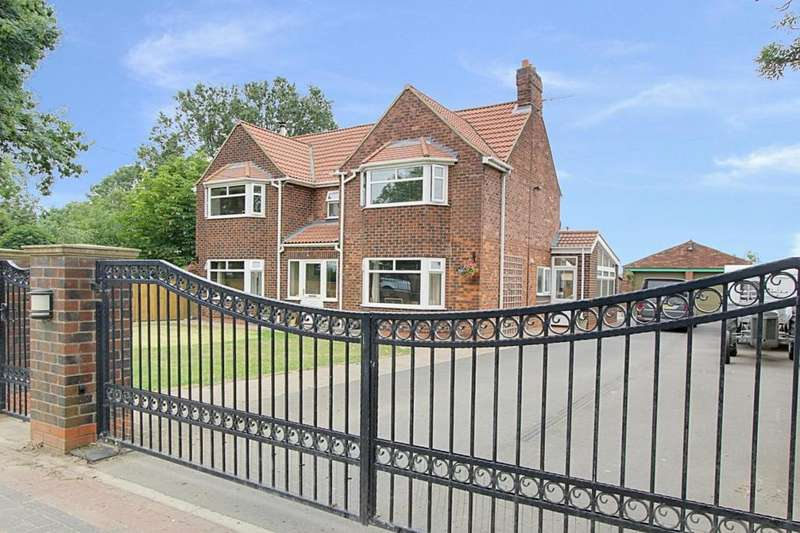 4 Bedrooms Detached House for sale in Carr Road, Ulceby, North Lincolnshire, DN39