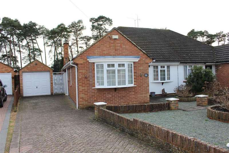 3 Bedrooms Semi Detached Bungalow for sale in Roslyn Road, Woodley, Reading