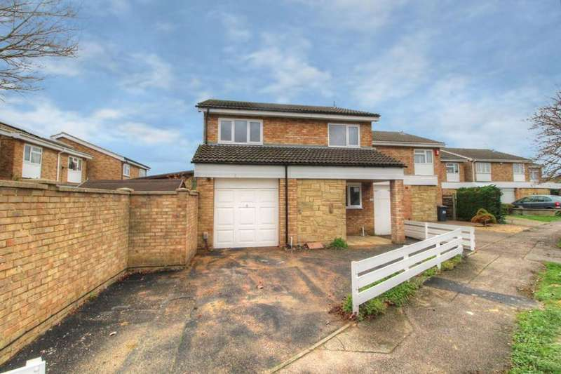 4 Bedrooms Detached House for sale in Whitworth Way, Wilstead, Bedfordshire, MK45