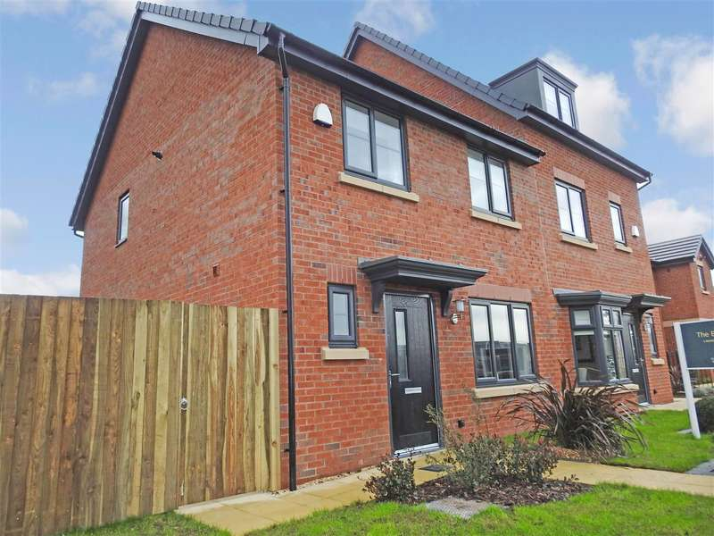 3 Bedrooms Semi Detached House for sale in The Burley, Oaktree Grange, Leyland