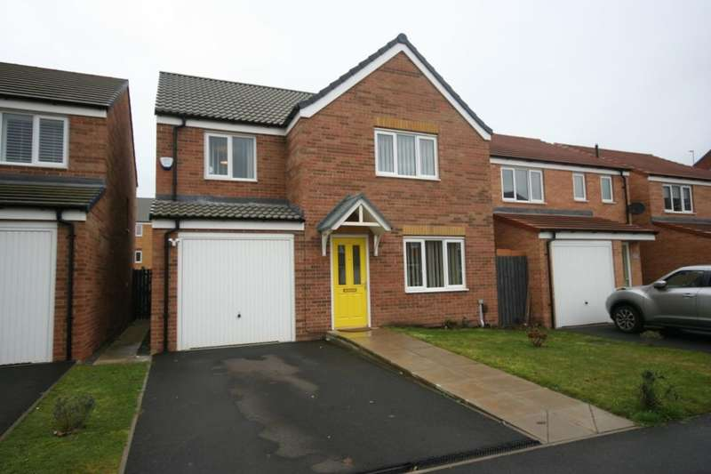 4 Bedrooms Detached House for sale in Scholars Rise, Middlesbrough, TS4