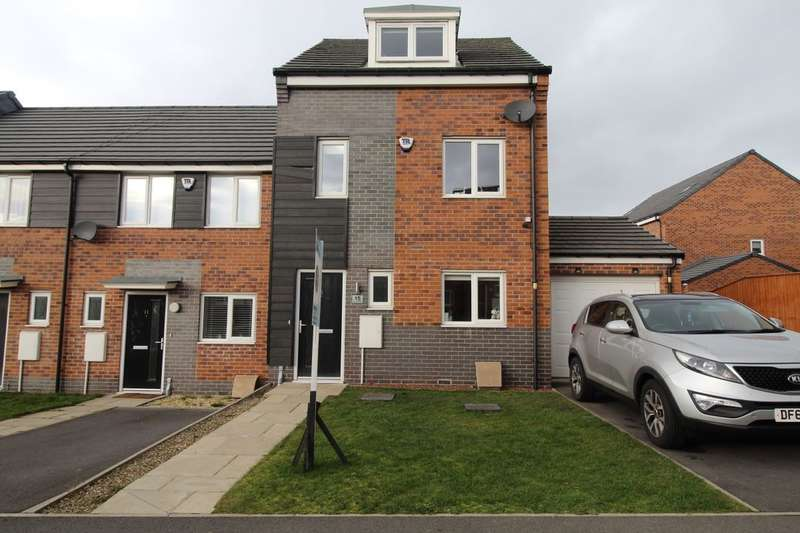3 Bedrooms Terraced House for sale in Terry Cooney Place, Newcastle Upon Tyne, NE5