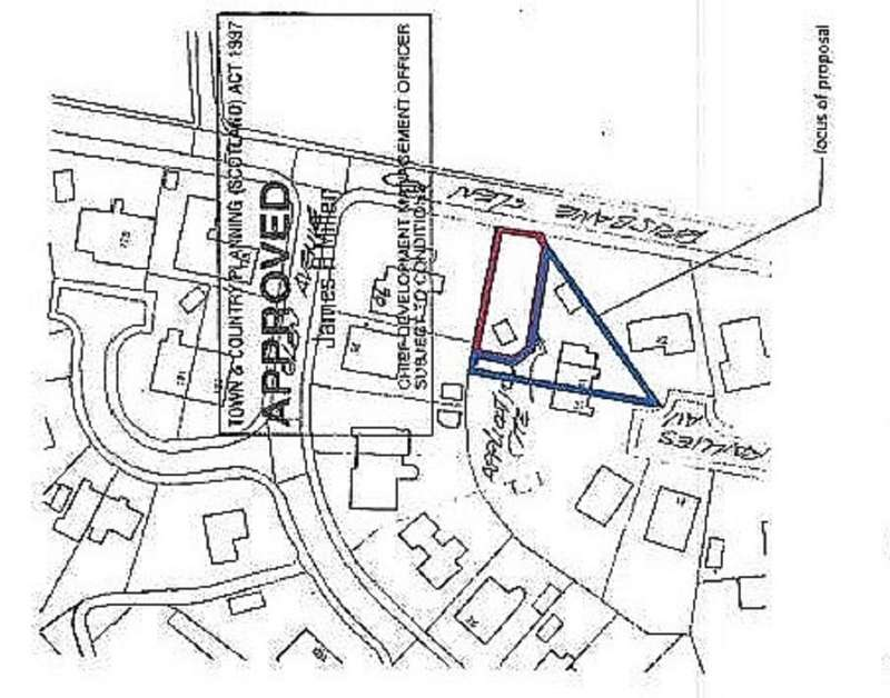 Plot Commercial for sale in PLOT NORTH EAST of 44 Raillies Avenue, LARGS, KA30 8QY