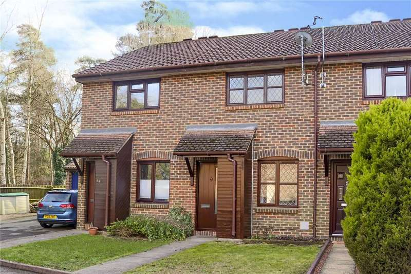 2 Bedrooms Terraced House for sale in Fordwells Drive, The Warren, Bracknell, Berkshire, RG12