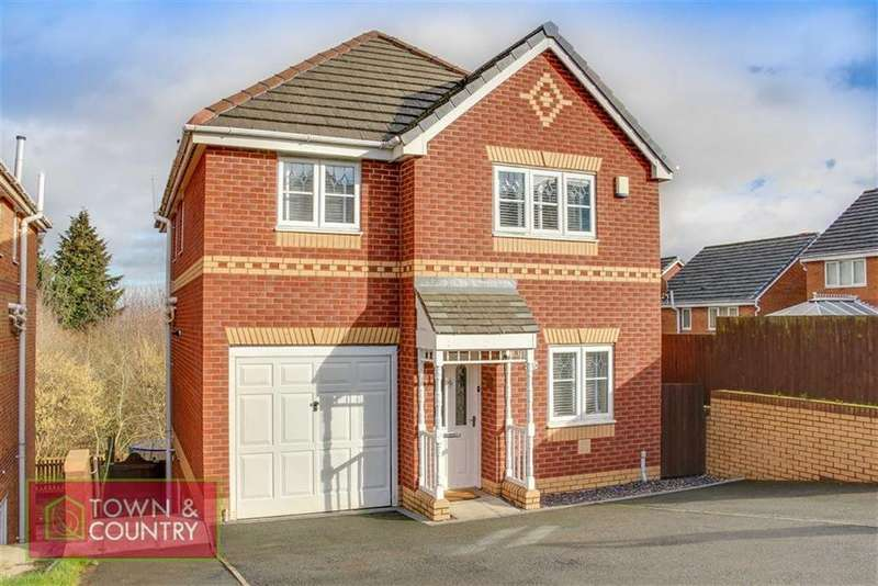 4 Bedrooms Detached House for sale in Ffordd Kinderley, Connah's Quay, Deeside, Flintshire