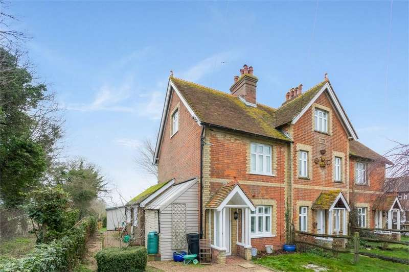 2 Bedrooms End Of Terrace House for sale in Northease Cottages, Newhaven Road, Rodmell, LEWES, East Sussex