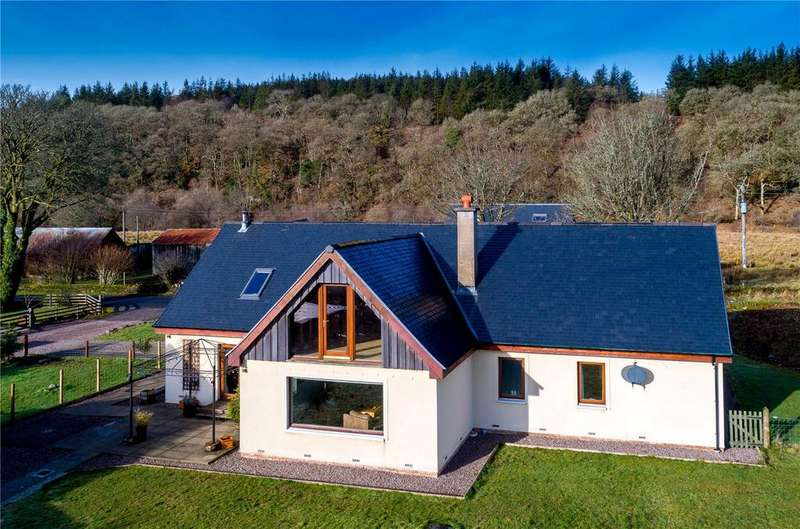 3 Bedrooms Detached House for sale in Camus Stack, Kilmichael Glassary, Lochgilphead, Argyll, PA31
