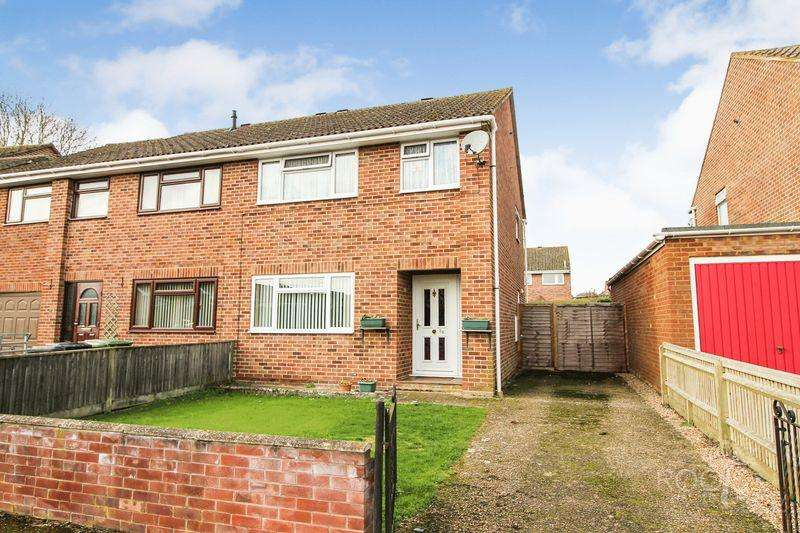 3 Bedrooms Semi Detached House for sale in Trent Crescent, Thatcham
