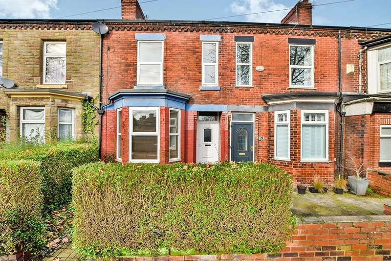 3 Bedrooms Terraced House for sale in Railway Road, Urmston, Manchester, M41