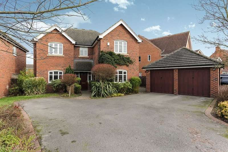 5 Bedrooms Detached House for sale in Harley Close, Worksop, S80