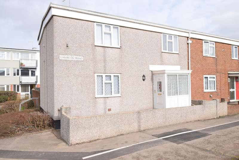 4 Bedrooms End Of Terrace House for sale in Caradoc Road, Northville, Cwmbran, NP44