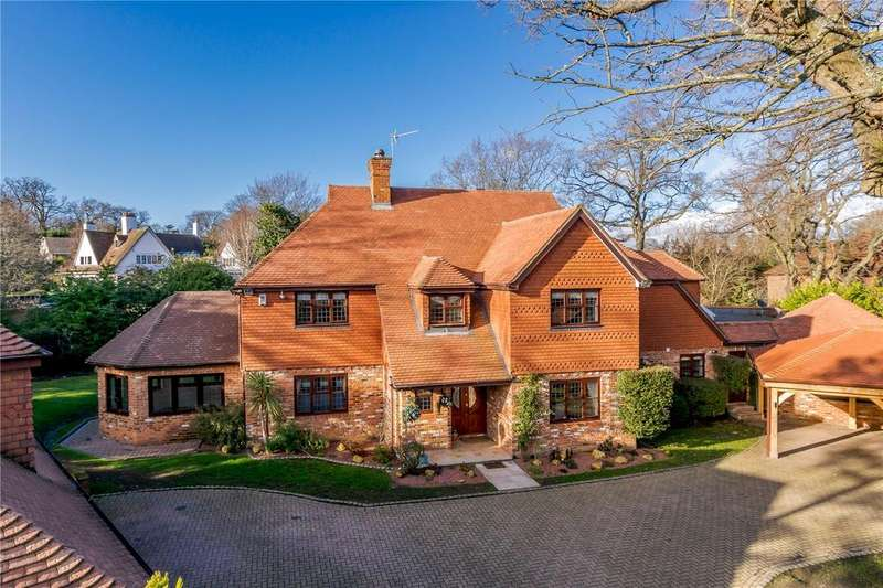 5 Bedrooms Detached House for sale in Turnoak Park, St Leonards Hill, Windsor, Berkshire, SL4