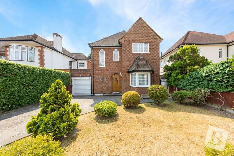 3 Bedrooms Detached House for sale in Parkland Avenue, Upminster, RM14