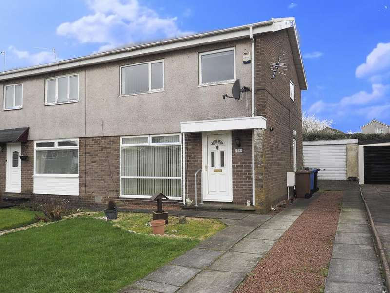 3 Bedrooms Semi Detached House for sale in Turnberry Court, Kilwinning KA13