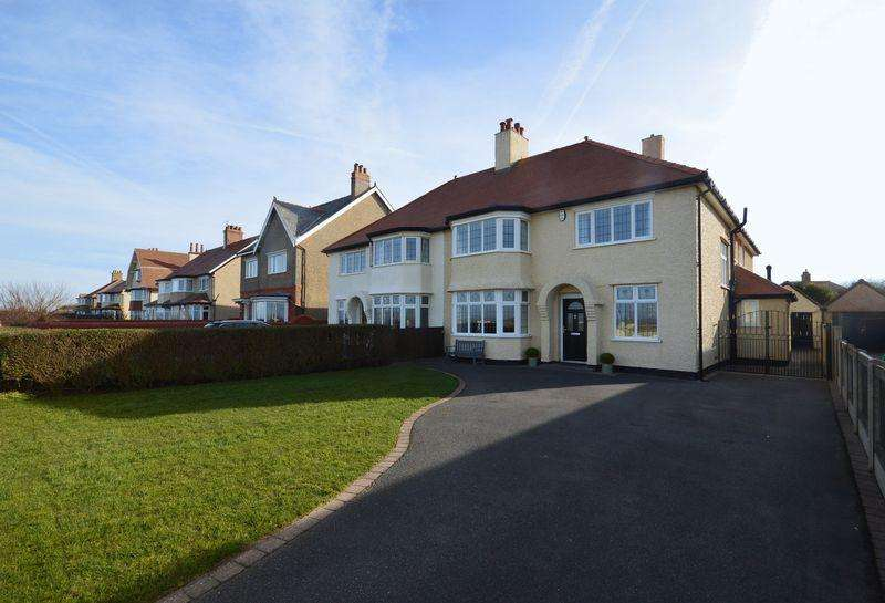 5 Bedrooms Semi Detached House for sale in Meols Parade, Meols