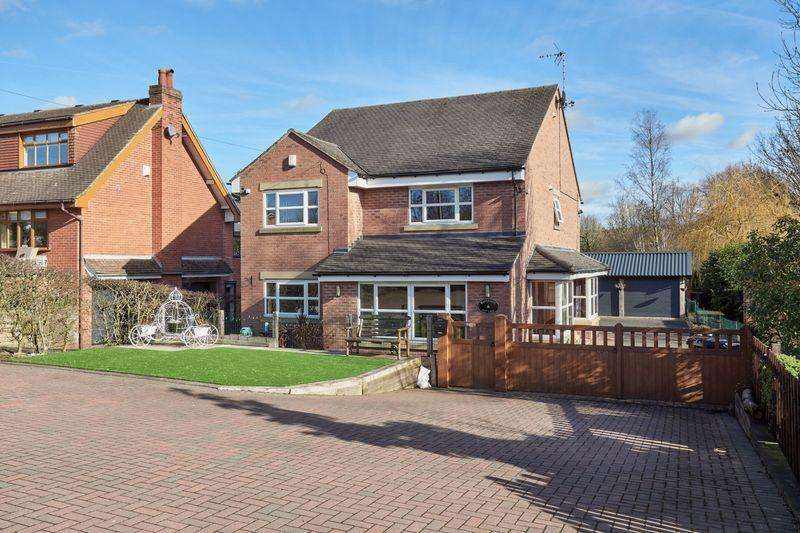 4 Bedrooms Detached House for sale in Waterside Cottage, Off Station Road, Biddulph, ST8 6BS