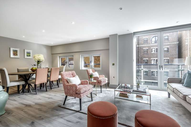 2 Bedrooms Apartment Flat for sale in Ivory House West, Battersea, SW11