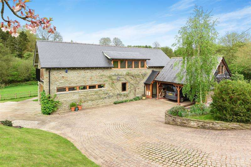 3 Bedrooms Detached House for sale in Carey, Hereford
