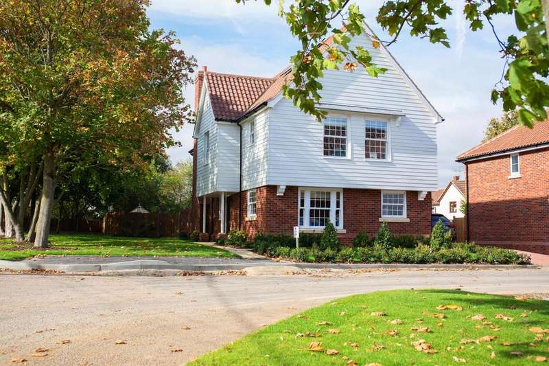 4 Bedrooms Detached House for sale in Plot 3 The Ashes, Back Road, Writtle, Essex, CM1