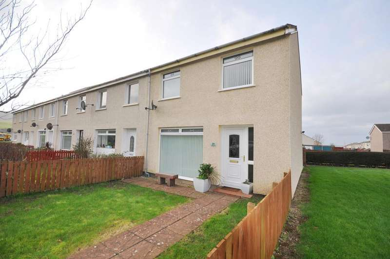 3 Bedrooms End Of Terrace House for sale in 21 Sycamore Drive, Girvan KA26