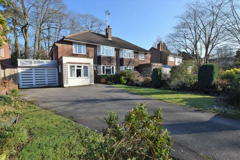 4 Bedrooms Semi Detached House for sale in St. Michaels Road, Farnborough