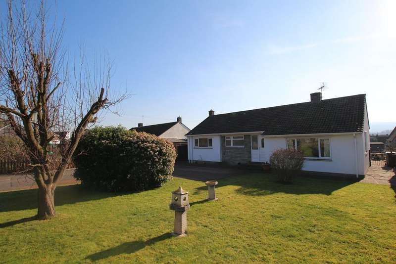 3 Bedrooms Detached Bungalow for sale in Lovely outlook to the Mendip Hills