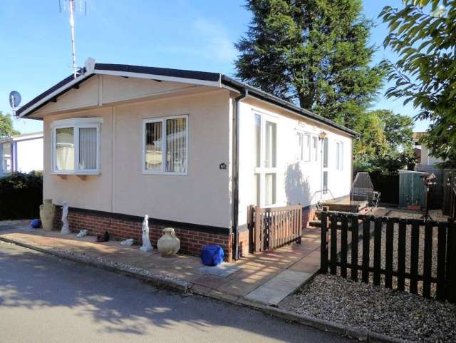 2 Bedrooms Park Home Mobile Home for sale in Palma Park Homes Shelly Street Loughborough Leicestershire