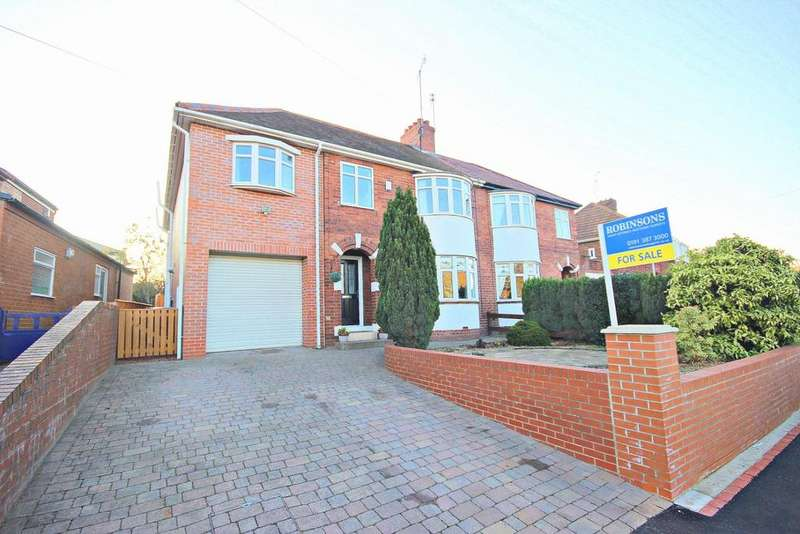 5 Bedrooms Semi Detached House for sale in Camperdown Avenue, Chester Le Street