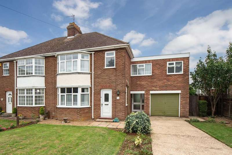 4 Bedrooms Semi Detached House for sale in Leighton Road, Toddington