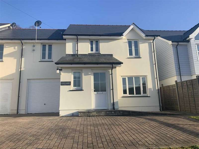 4 Bedrooms Semi Detached House for sale in Heol Y Fedwen, Ciliau Aeron, Lampeter