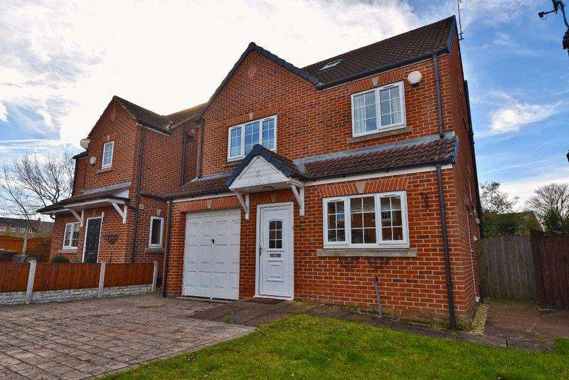 5 Bedrooms Detached House for sale in Hill Court, Castleford