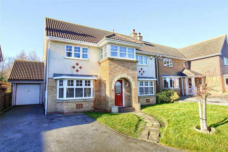 4 Bedrooms Detached House for sale in Tavistock Close, Hartlepool