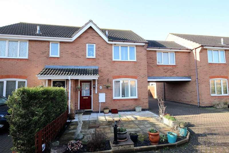3 Bedrooms Terraced House for sale in Waltham Drive, Elstow