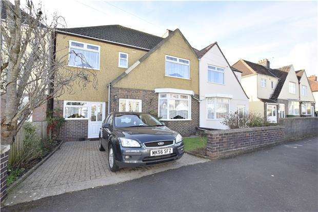 4 Bedrooms Semi Detached House for sale in Central Avenue, Hanham, BS15 3PQ