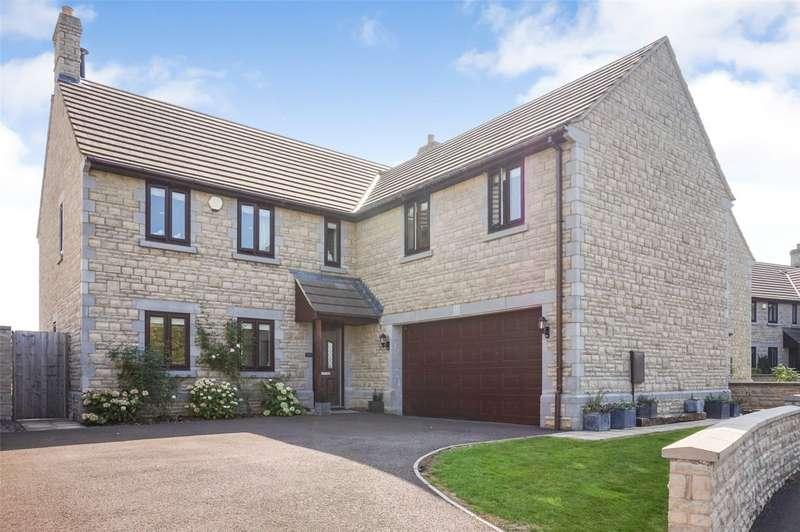 5 Bedrooms Detached House for sale in Archbishop Close, Baltonsborough, Glastonbury, Somerset, BA6