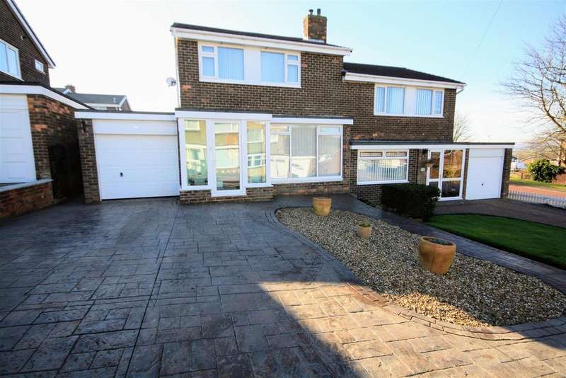 3 Bedrooms Semi Detached House for sale in Glenluce, Birtley, Chester Le Street