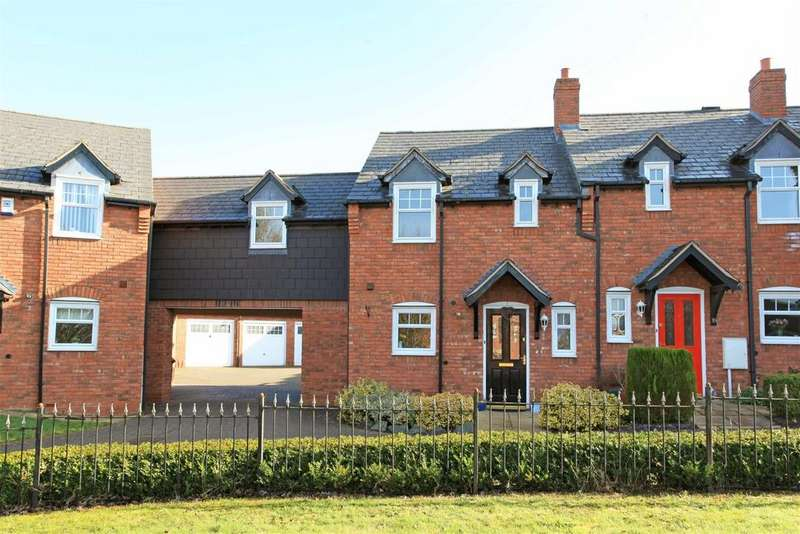 3 Bedrooms Terraced House for sale in Dalefield Drive, Admaston, Telford