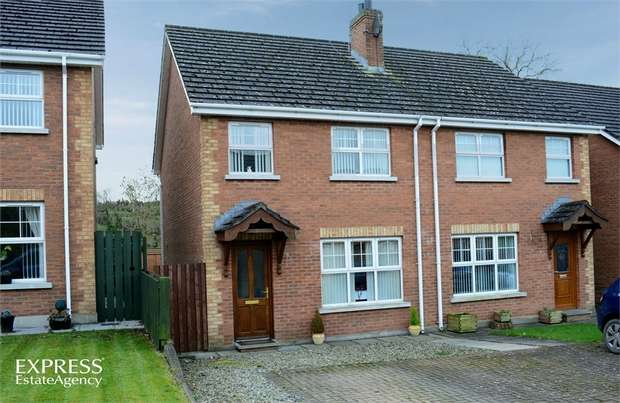 3 Bedrooms Semi Detached House for sale in Mill Brae, Dromara, Dromore, County Down