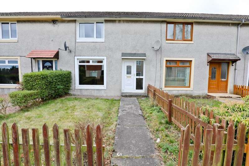 2 Bedrooms Terraced House for sale in Evandale Court, Glenrothes