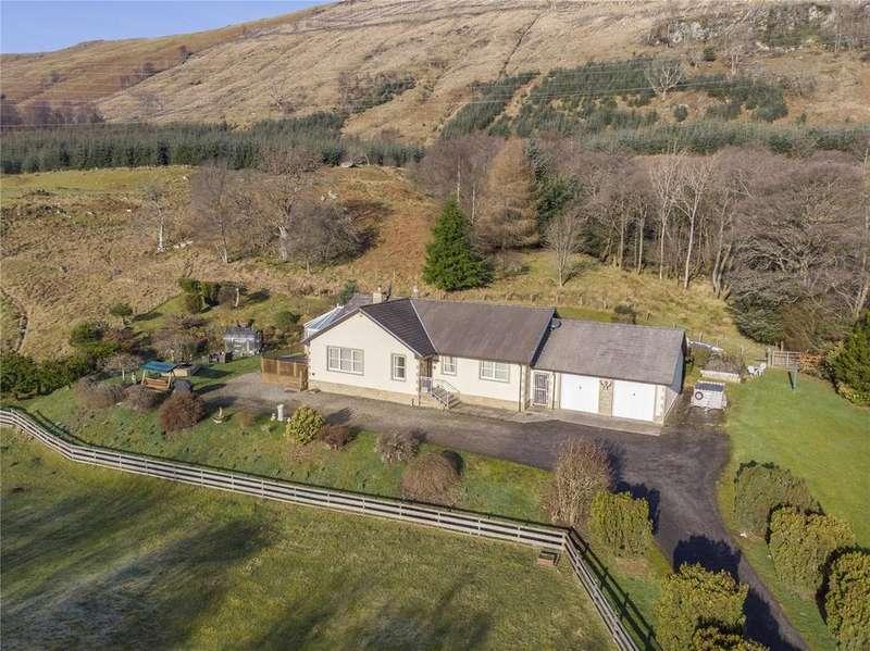 3 Bedrooms Detached Bungalow for sale in Craignavie, Craignavie Road, Killin, FK21